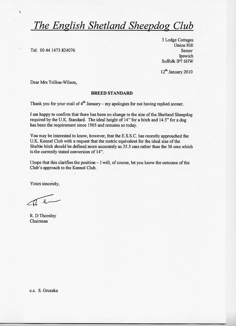 lettre d excuse en anglais